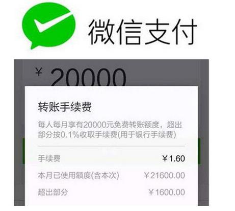 微信转账有手续费